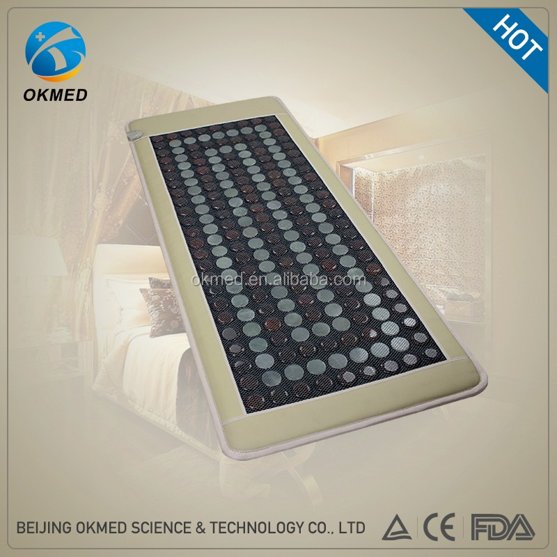 Factory selling Better for sleep/ relief pain jade mat massage at home