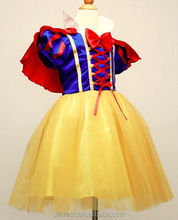 Bastante alta calidad dhl libre snow white princess dress for kids cenicienta princesa dress for girls