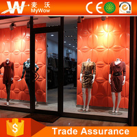 [WS66M5] Modern Elegant Washable Showcase 3D PVC Wall Paneling Home Depot