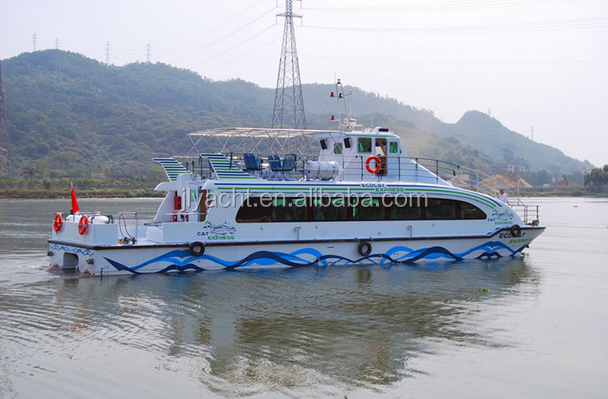 JL 21.6m Fiberglass Passenger Japan engine Catamaran Boat