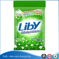 Liby Whitening & Stain Free Phosphorus Free Laundry Detergent Powder