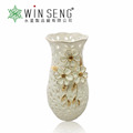 Beautifully porcelain vase home decor placed European modern ceramic arts