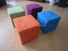 foldable storage ottoman /bench /stools
