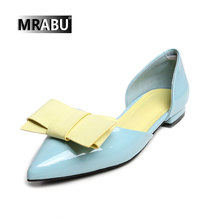 pointed toe butterfly patent leather flat comfortable stylish sandals lady sandal 2017 alibaba china shoes chappals shoes