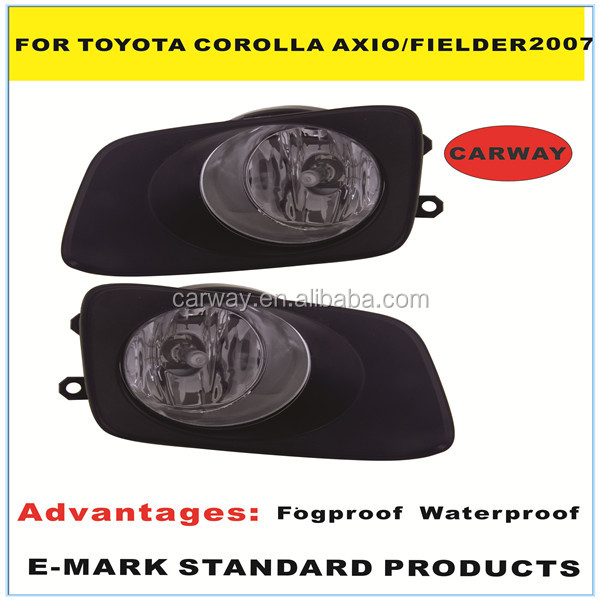 Nice price parts for toyota corolla axio fielder 2007 halogen fog lamp