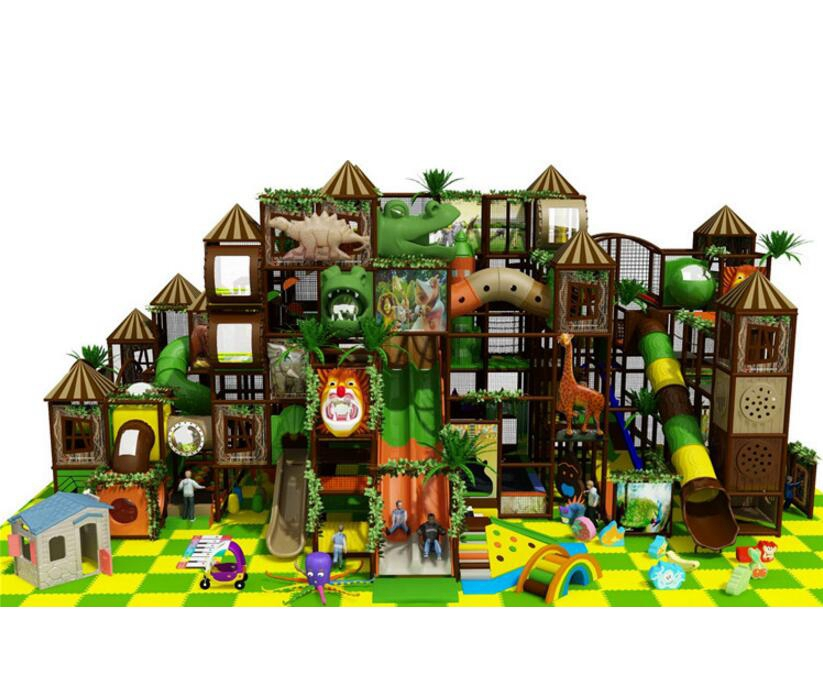Jungle Theme Cheap 19x11.12x7.5m Indoor Play Centre Equipment For Sale
