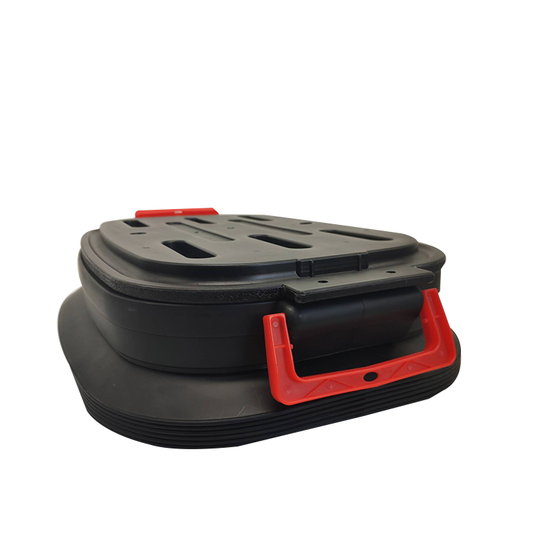 JT-N0701-10 37L Collapsible Plastic Car Boot Organizer Back seat car Organizer with Lid
