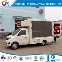 Roadshow 6mm 8mm 10mm Pixel Pitch Mini LED mobile advertising truck