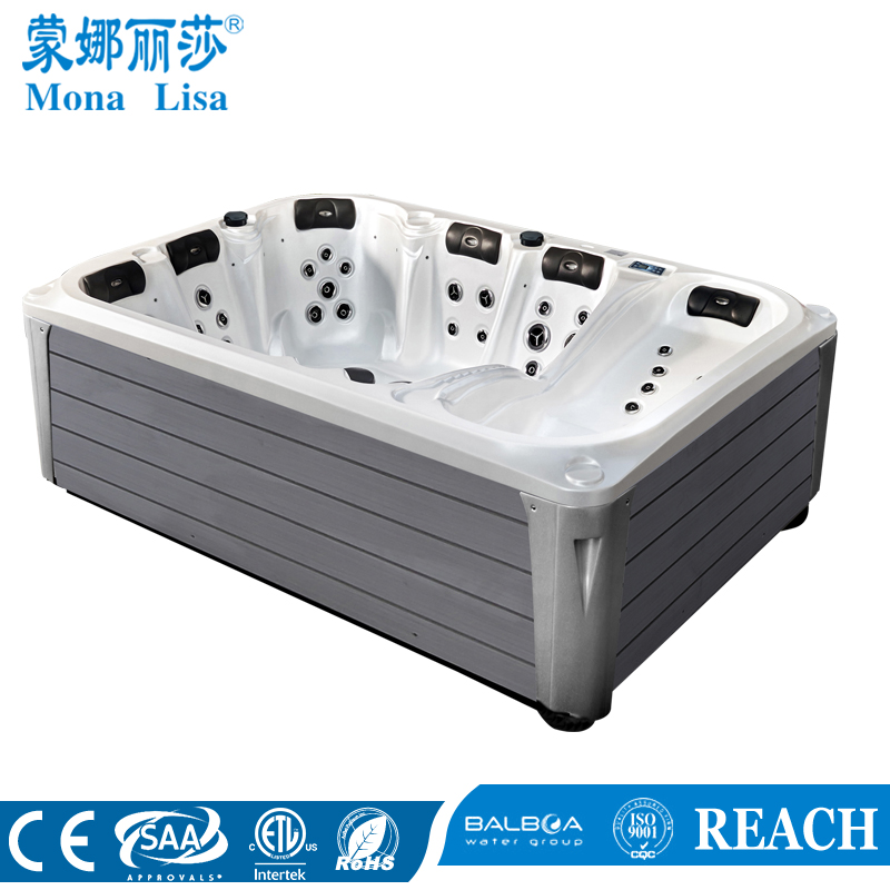 Monalisa outdoor deluxe inflatable foot spa special period best price pool spa