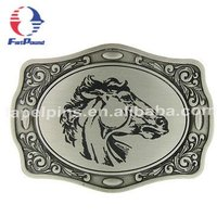 Horse Logo Belt Buckle