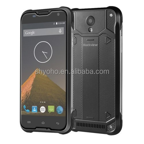 Original Blackview BV5000 Mobile <strong>Phone</strong> 5 Inch 1280*720 2G RAM 16G ROM MTK6735P Quad Core Android 6.0 4G LTE Waterproof