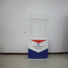 Wholesale new products from China Folding promotional display counter used trade show displays