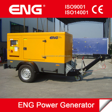 Mitsubishi 12kw mobile genset 7 days delivery in stock