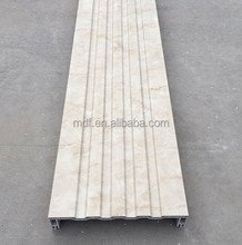 Modern design pvc extrusion marble color house column