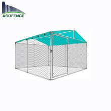 Eassily assemble chain link dog kennel and runs for wholesaler