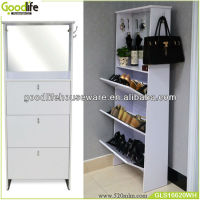 factory manufacturer multifunction furniture wood shoe cabinet