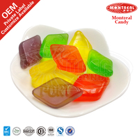 Wine gum sugar coated jelly candy