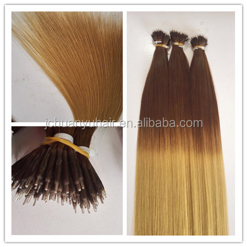 Juancheng Huanyu hair new products Nano ring full cuticle remy human hair extesnion