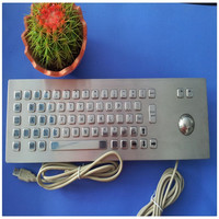 Top Quality Low Price Keyboard Multifunctional Metal Keyboard With Trackball