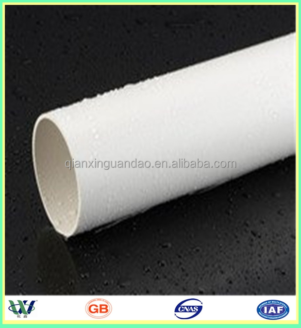 2016 High Quality schedule 80 pvc pipe