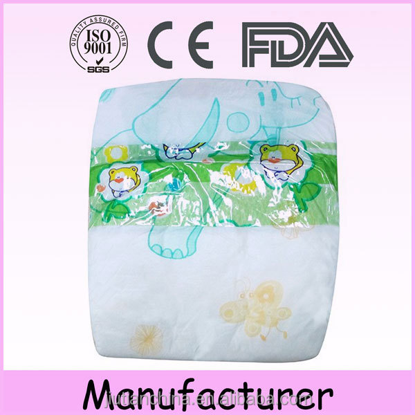 Wholesale professional factory made sleepy softextile disposable tena baby diaper