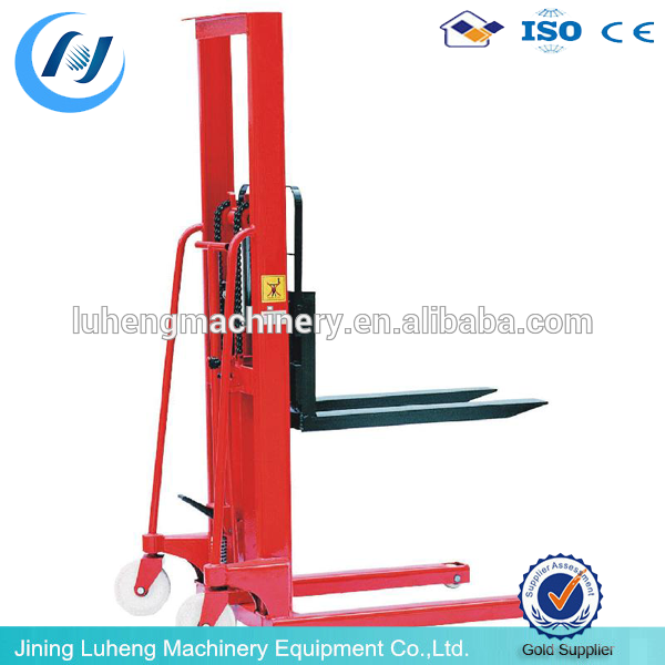 Made in china Mini Electric Reach Stacker/ lift truck - LUHENG