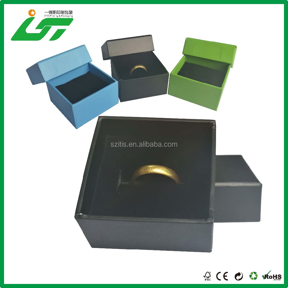 Chinese custom handmade jewelry box ring inserts