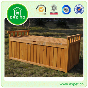 wooden garden tool storage shed DXGH026