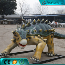 Cartoon Fiberglass Statue Static Dinosaur Decoration for Park