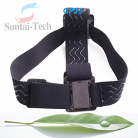 2016 Cheap Gopros Accessories Elastic Adjustable Head Strap Belt Mount For GoPros Heros 4 3+/3/2/1