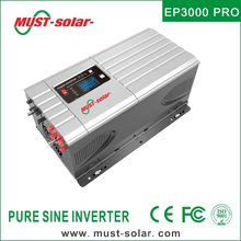EP3000 PRO series built in PWM 50A solar charge controller off grid low frequency 3000W 48VDC 220VAC intelligent power inverter