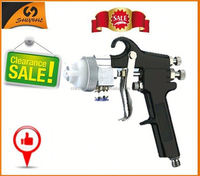 Hot sale paint type mirrors double nozzle chopper spray gun