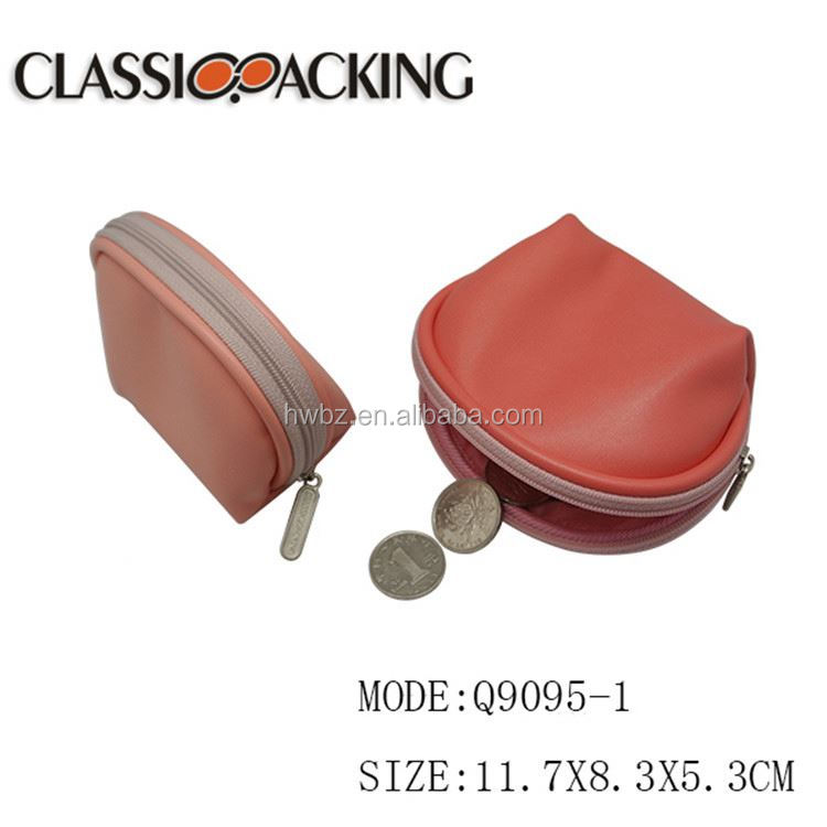 Multifunction special design silicone small custom coin purse