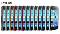 Love Mei 0.7mm Aluminum Frame Case For iphone 5c