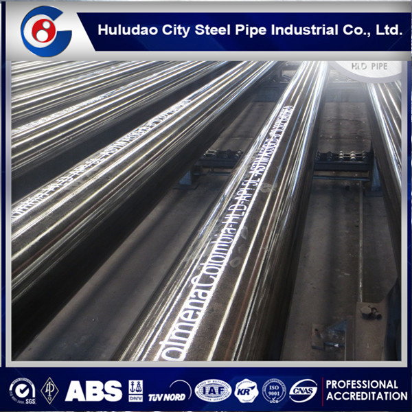HOT!!ERW STEEL PIPE ASTM A500 Q345B Q235 MECHANICAL PROPERTIES
