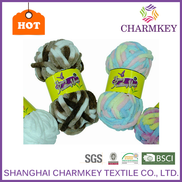 Wholesale polyester yarn used chenille machine with OEKO-TEX standard