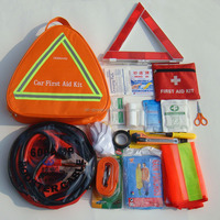 OP wholesale ISO CE FDA approved hot sale practical auto road trip first aid kit emergency kits for cars