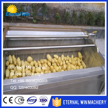 automatic high pressure washer/commercial fruit vegetable washer/leafy vegetable spray washing machine good prices
