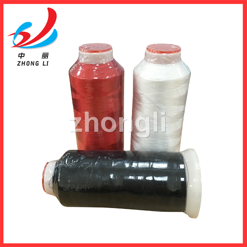 100% polyester embroidery thread 120D/2 150D/2 300D/2 colors