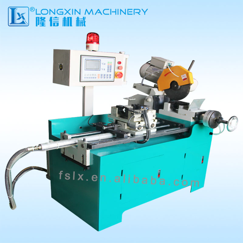 LX315NC Automatic clamping and cutting feed Manufacture Pneumatic Steel Bar Cutting Machine Steel Pipe Cutter
