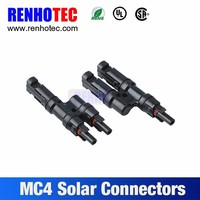T Type MC4 Solar Connector Manufacturer for Solar Inverter
