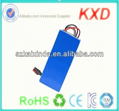 high power lifepo4 20ah 48v 1000w electric bike battery