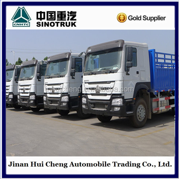 10 wheel howo 6x4 20 ton van cargo truck for sale