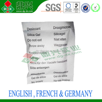 10G Silica Gel Desiccant Fragrance Free Water Absorbing Materials