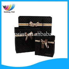 Hot sale various size gift paper bag/Fashional polka dots paper bag/recycle paper bag