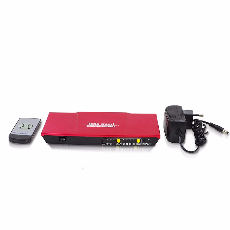 Seamless Switcher 4x1 Quad Screen Multiviewer HDMI Switch 4x1