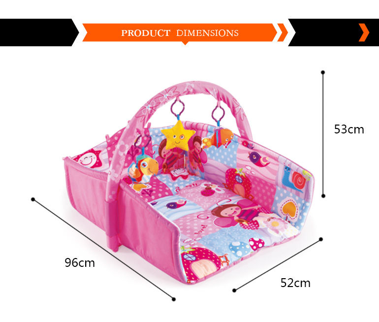 alibaba express colorful baby foldable korea play mat for wholesale
