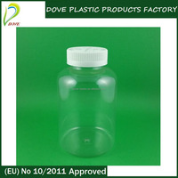 500 ml plastic bottle 500ml large plastic container round plastic container with lid