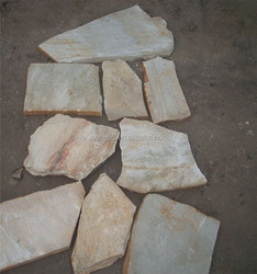 Natural slate rustic color /outdoor slate stepping stones