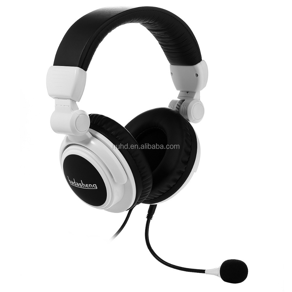 Vibration Function Stereo Bass Gaming Headset headphone with detachable Mic for PS4 PS3 Xbox one Xbox 360 PC